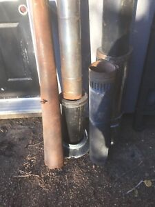 Wood stove pipe.  Six. Eight inch.  20 dollars please.