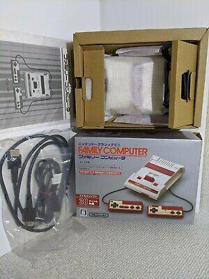 Used Nintendo Classic Mini Family Computer Famicom Nes Console JAPAN OFFICIAL