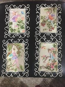 4 x Fairy Wall Plaques Rankin Park Newcastle Area Preview