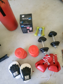 Wanted: Gym set exercise machines, weights, bench press