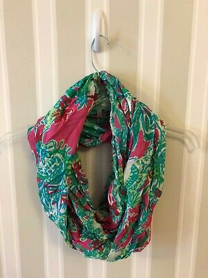 Lilly Pulitzer Infinity Scarf in Blue/Pink