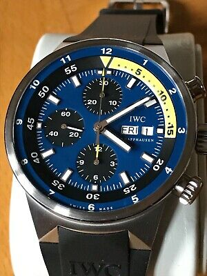 IWC Aquatimer Calypso Tribute Limited Edition model 387203 automatic chronograph