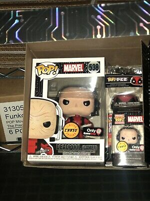 Funko Pop GameStop Black Friday MARVEL Deadpool Gamer Chase Full Box