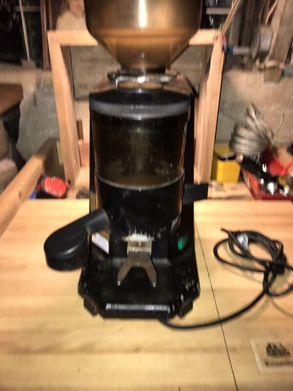 Commercial Espresso Coffee Grinder - La San Marco SM 90 WORKING CONDITION black