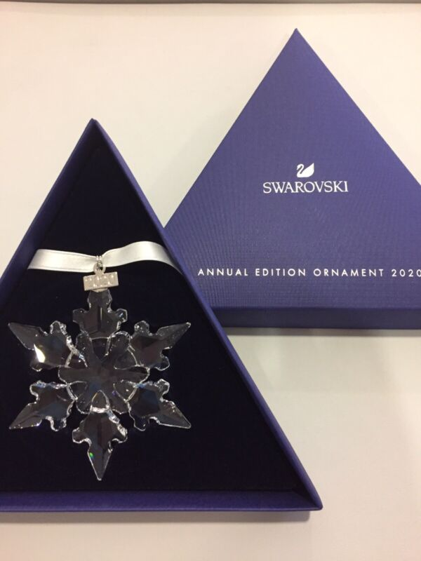 Swarovski Crystal 2020 ANNUAL EDITION LARGE CHRISTMAS ORNAMENT 5511041 AUTHENTIC