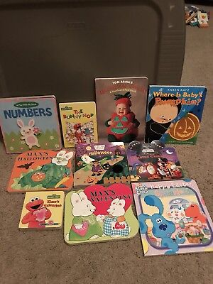 Holiday Children Books - Lot of 10 - Halloween, Easter, Valentines