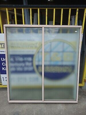 Aluminum Sliding Window 1545 H x 1445 W (Item 4245/4) Pink