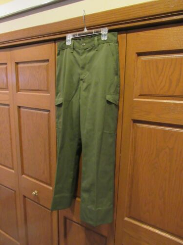 Official Boy Scouts Uniform Pants size men
