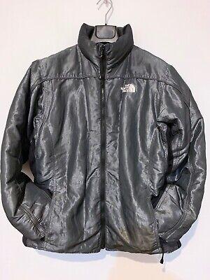The North Face 600 Goose Down Filled Jacket Size XL Gunmetal Black Nylon Taffeta ()