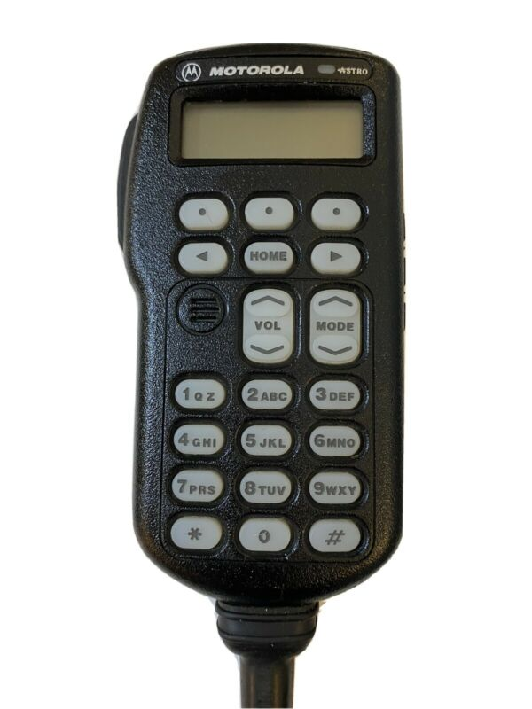Handheld Control Head Mic Model HMN4044E Motorola XTL5000 Astro Spectra HHCH W3