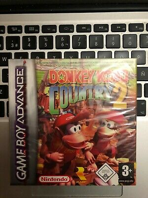 Donkey Kong Country 2 Gameboy Advance pal nuevo precintado new sealed