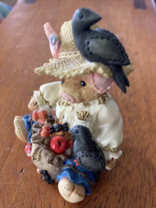 "This Little Piggy Figurine ""Share Crow"" Enesco 1995"