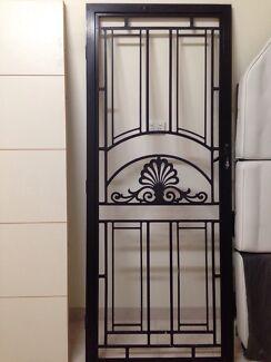 Black security door frame  Fairfield Fairfield Area Preview