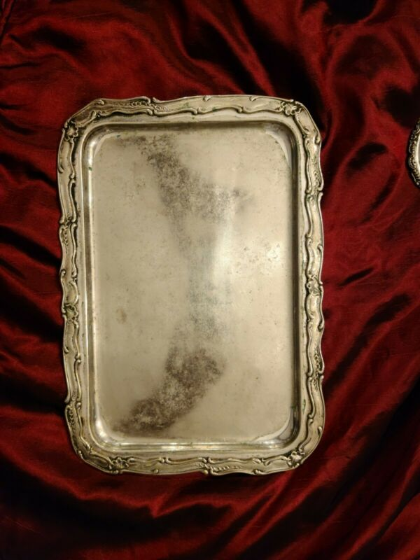 """The Albemarle Hotel Silver 12"""" Tray by Gorham Silver Co"""