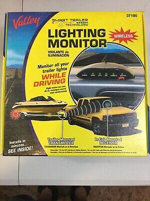 Valley Smart Trailer Wireless Lighting Monitor 37195 New