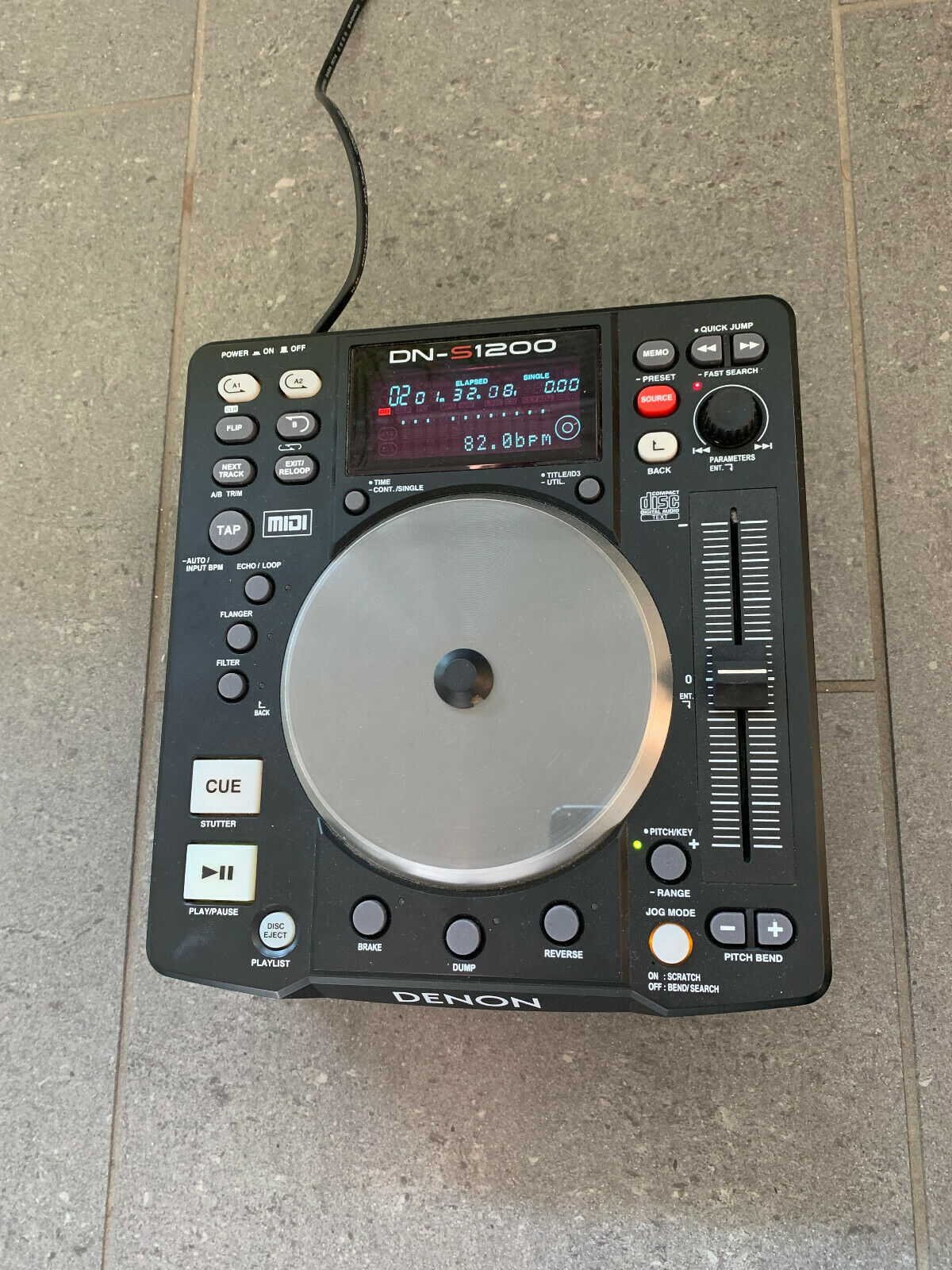 Denon DN-S1200 | DJ-Controller | CD-Player | USB