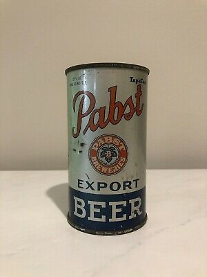 Pabst Blue Ribbon Export Flat Top Beer Can Milwaukee, WI,