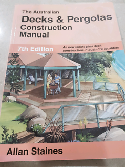 Decks and Pergolas Construction Manual