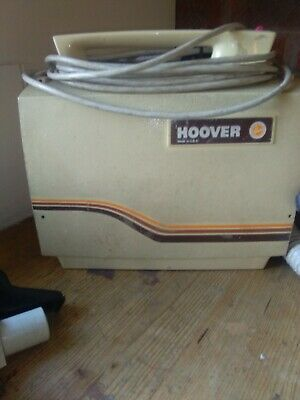 Vintage hoover retro made in USA with all attachments vacumn cleaner