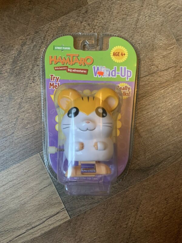 Hamtaro Wind Up Street Players Sandy New Sealed In Box Factory Sealed