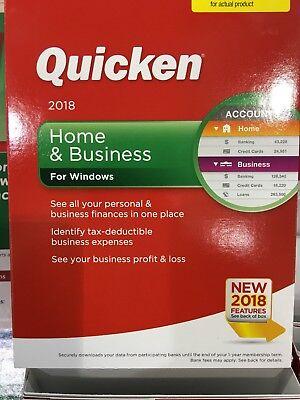 New Quicken Home   Business 2018 Windows Sealed Finance Budget