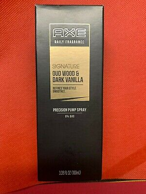 AXE Signature with Gold Dark Vanilla and Oud Wood Perfume,80 ml | Free Shipping