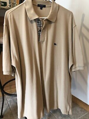 Burberry Mens Polo Size XL