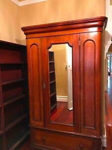 Antique Australian Cedar Wardrobe Mount Lawley Stirling Area Preview