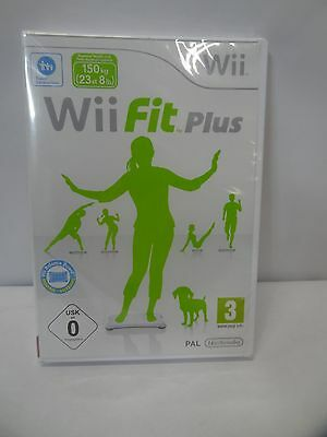 New Nintendo Wii Fit Plus Fitness Game Pal Version 2009 Wont Work In Us Wii