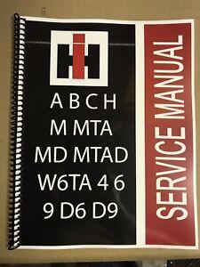 International tractor manual ebay c super c international tractor technical service shop repair manual farmall fandeluxe Choice Image