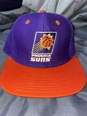 Vintage Adidas NBA Hardwood Classic Phoenix Suns 90's Adjustable Snapback Hat