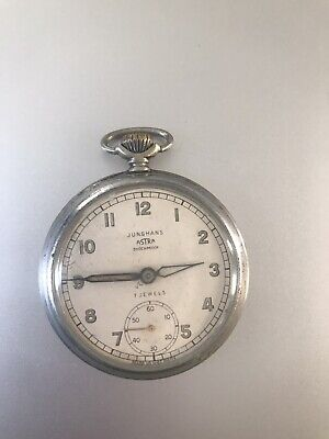Junghans Astra Pocket Watch Mechanical Hand Wound