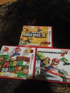 3DS games. New & Unopened. 3 for $80