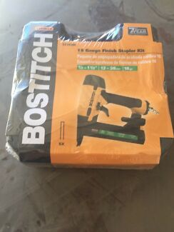 Bostitch 18gauge finish stapler sx1838