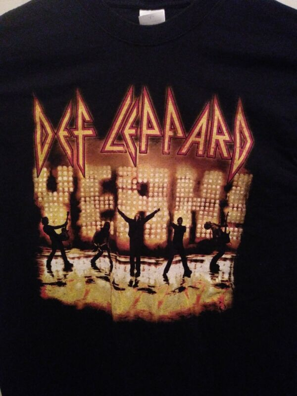 """DEF LEPPARD """"YEAH"""" 2006 TOUR SHIRT in LARGE"""