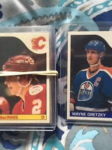 1985 OPC hockey card RARE set(without Lemieux RC) Near mint (