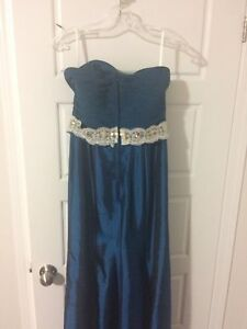 Fancy blue medium size dress