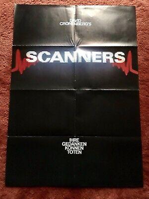 Scanners Ihre Gedanken können töten Kinoplakat Poster A1, David Cronenberg gebraucht kaufen  Waldsassen