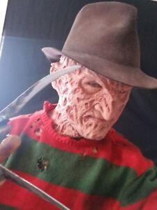 Freddy Krueger Part 4 Hyper Realistic spfx Silicone Mask Nightmare Halloween