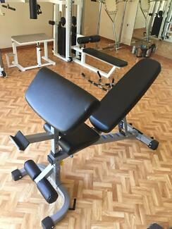 Incline/decline BENCH with wheels Mudgeeraba Gold Coast South Preview