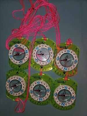 lanyard Silva Starter Compass with Girl Scout GSUSA 100th anniversary