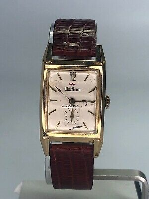 Vintage Waltham Mens Watch INCABLOC 17 Jewels WORKING WIND UP