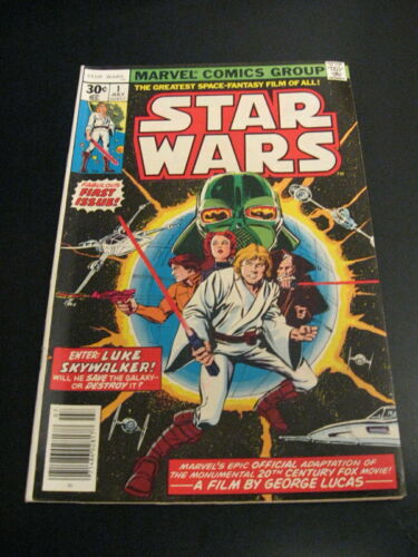Wow! STAR WARS #1-18! **1st Prints Except #4** (VF+) *Bright & Glossy!* Wh. Pgs!