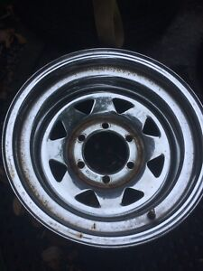 Chrome Sunraysia wheels