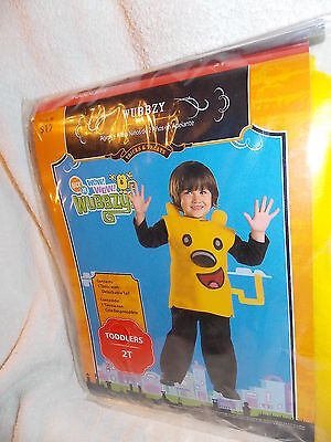 Nick Jr Wubbzy Costume Childs Size Toddlers 2T  NEW - Wubbzy Costume