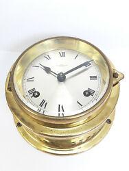Rare 70's Wempe 8 days Chronometer.Werke Marine Clock .Strike every 30 minutes