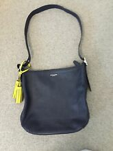 Coach Navy leather bag Brighton East Bayside Area Preview