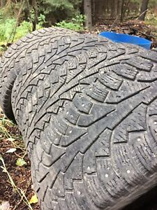 Winter tires 235/60r18