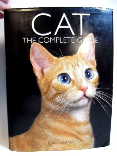 CAT Book The Complete Guide Book Breeds & More Hardcover Large Book