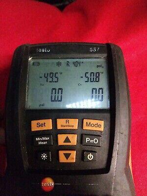 Testo 557 Refrigeration System Analyzer With Vacuum Gauge 0563 5572